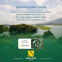 Lying in the lap of the Banasura hills in the #Wayanad district is the picturesque Banasura Sagar dam. Banasura Dam is the largest earthen dam in the country and the second-largest in Asia. The view of the sprawling reservoir from the top of the dam is br (nucleusproperties) Tags: beautiful life luxuryhotel fauna kerala wayanad resort tourism lifestyle luxury nature architecture hillstation adventure lushtropicalgreen hotel gorgeous diverseflora elegance environment beauty travel streams exquisite view majesticwaterfalls atmosphere adventures