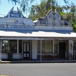 Natimuk. This old Elders Stock and Station agents was built in 1887 as Kiefels Store. They sold jewellery, wine, bicycles and ran a barbers business., thumbnail