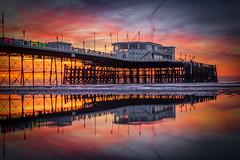 Im a firestarter, twisted firestarter (Andrew Thomas 73) Tags: pier sunrise coast reflections lowtide