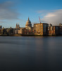 Last light (sarah_presh) Tags: stpauls london city thames riverthames light sunset warm late cathedral smoothed longexposure nikond750 leefilters lee6stop