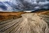 Campo Imperatore SS17bis (Ivano Di Benedetto) Tags: campoimperatore abruzzo clouds nuvole mountain river fiume landscape sky nature natura appennino paesaggio outside gransasso