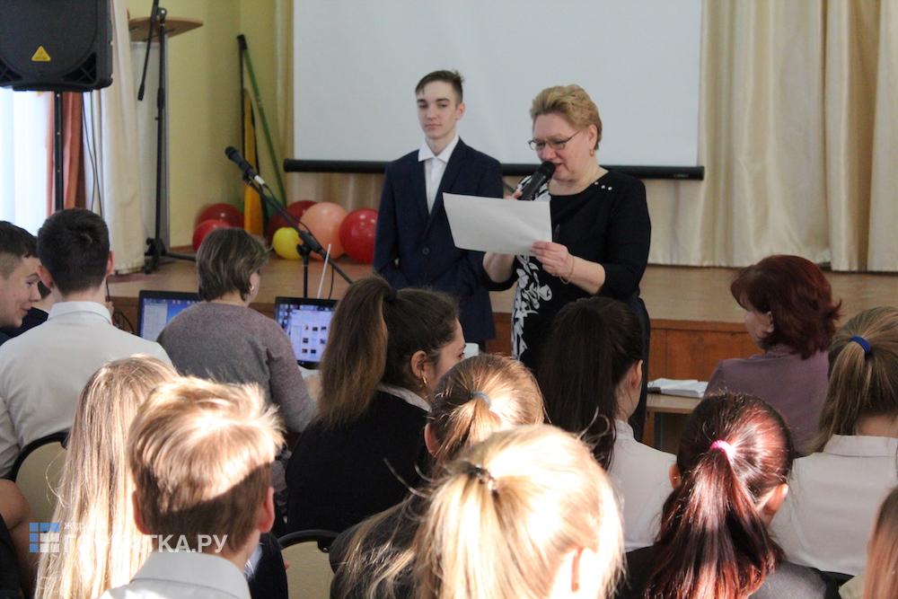 23 февраля в Красногорбатской школе