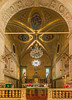 St Stephen's Church Altar (fotofrysk) Tags: interior altar arch ceiling frescos paintings ststephenschurch centralsquare plaza piazza square hilltopredoubt fortresstown buildings architecture croatia motovun istria dalmatia sigmaex1020mmf456dch nikond7100 201710050036