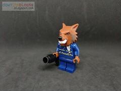 Lego Marvel Warwolf (Howling Commandos) Minifig MOC DTB072 (downtheblocks) Tags: marvel lego superhero howlingcommandos warwolf minifig moc futurefight
