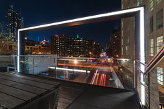 Framed View (dansshots) Tags: dansshots nikon nikond750 nyc newyorkcity newyork newyorkatnight highline thehighline rokinon rokinon14mm wideangle
