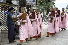 Myanmar (ubuc) Tags: portrait women nuns buddhist travel ubuc nikkor2470mm nikond800 nyaungshwe shanstate myanmar