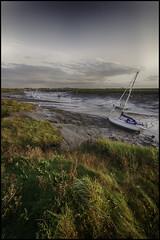 Spray (Aimless Alliterations) Tags: england nikond80 sigma1020mm somerset uk uphill nikond7000 riveraxe boats lowtide mudflats
