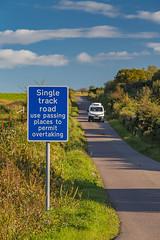 Single Track Road (B8016) (astroaxel) Tags: schottland islay grosbritannien single track road b8016