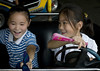 North Korean girls in bumpers cars in Taesongsan funfair, Pyongan Province, Pyongyang, North Korea (Eric Lafforgue) Tags: amusementpark asia asianethnicity bumpercar bumpercars casualclothing cheerful children childrenonly city dictatorship dprk dprk9524 enjoyment entertainment fair fairground fun funfair game girl girls happiness holiday holidays horizontal humanbeing joy koreanethnicity leisureactivity lifestyles middistance northkorea northkorean park pyongyang recreationalpursuit taesongsan traditionalculture traveldestinations travelingcarnival twopeople pyonganprovince 北朝鮮 북한 朝鮮民主主義人民共和国 조선 coreadelnorte coréedunord coréiadonorte coreiadonorte 조선민주주의인민공화국 เกาหลีเหนือ קוריאההצפונית koreapółnocna koreautara kuzeykore nordkorea північнакорея севернакореја севернакорея severníkorea βόρειακορέα