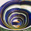 Downstairs (Karsten Gieselmann) Tags: 8mmf18 blau em5markii gelb grün mzuiko microfourthirds olympus treppe blue green kgiesel m43 mft yellow münchen bayern deutschland stairs staircase