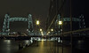 De 'Hef' bij Night (kevinpiket) Tags: koningshavenbrug koningshaven dehef spoorbrug hefbrug buitendienst monument rijksmonument industrieel erfgoed spiegeling nacht nachtopname avondopname tijdopname water villazebra rotterdam zuidholland nederland canon 60d brug liftingbridge