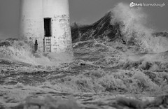 CO1A6368 (chris fearnehough) Tags: lighthouse storm stormchaser wirral newbrighton perchrock waves