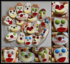 2018 Sydney: Face Biscuits Made by Me (dominotic) Tags: 2018 food biscuits confectionery lolly sweets madebyme smileonsaturday facebiscuits collage decoratedbiscuit foodcollage yᑌᗰᗰy sydney australia
