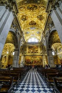 Santa Maria Maggiore Basilica - central aisle,