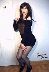 Black & Gold (jessicajane9) Tags: tg crossdress feminization lgbt transgender cd xdress tgurl m2f travesti crossdressing transvestite crossdresser tgirl trans tranny tv