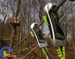 Edelrid #smartbelay permanent lifeline system. Ultimate #safety for ropes courses #belay http://j.mp/2AGxr50 (Skywalker Adventure Builders) Tags: high ropes course zipline zipwire construction design klimpark klimbos hochseilgarten waldseilpark skywalker
