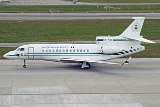 Nigerian Air Force Dassault Falcon7X 5N-FGV ZRH 25-01-18