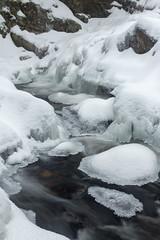 Bear's Den Falls winter (t s george) Tags: bearsdenfalls newsalemma waterfall brook stream flow snow cold ice newengland canon6dmarkii