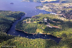 View over Tod Inlet, Butchart Gardens & Brentwood Bay - Seaplane Flight, Victoria, British Columbia, Canada (Black Diamond Images) Tags: seaplaneflight victoriaseaplaneflights victoria britishcolumbia canada floatplaneflight scenicflight floatplanetours innerharbour floatplane aircrafttours aircraft seaplane seaplanecharterflights harbourairseaplanes harbourair seaplanes victoriapanorama seaplanetour airplane aerialphoto aerialphotography brentwoodbay todinlet butchartgardens senanusisland willispoint aerial aerialphotos scenictours travelbritishcolumbia britishcolumbiatravel holidaysbritishcolumbia britishcolumbiaholidays