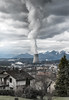 no future (Guy Goetzinger) Tags: kkw goetzinger nikon d850 clouds gösgen switzerland power plant nuclear industry kraftwerk centrale nucleaire mountains jura cloudy sky scary impressive 2018