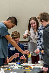 College of DuPage Hosts Fifth Annual Engineering Olympics 2018 76 (COD Newsroom) Tags: cod engineering glenellen illinois olympics photo collegeofdupage communitycollege highereducation curriculum academics campus studentresourcecenter competition stem engineeringclub students highschool
