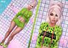 Rainy Baby♥ (EmiliyaTopaz) Tags: catwa runaway cynful reign random matter collabor88 sl second life blog fashion neon green pink rainy