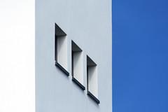 Three windows by Jan van der Wolf -