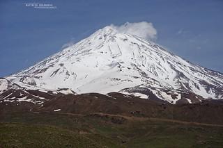Damavand mountain, Iran