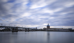 Blue hour (PhotoNic31) Tags: lagrave garonne toulouse heurebleue pauselongue nd1000