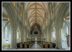 Choir and Aisles (veggiesosage) Tags: southwell southwellminster nottinghamshire aficionados gx20 grade1listed cathedral minster sigma1020mmf456dc