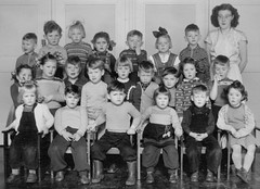Class photo (theirhistory) Tags: school class form group photo boys girls children kids teacher jumper trousers shoes wellies boots