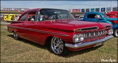 '59 Chevy Bel Air (Photos By Vic) Tags: 1959 59 classic car carshow chevy chevrolet red impala antique automobile vehicle vintage 2017goodguyssoutheasternnationals