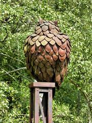 Eule (Gertrud K.) Tags: berlin schöneberg schönebergersüdgelände sculptures