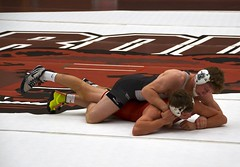 BRO-STA 149 2018-01-13 DSC_8192 (bix02138) Tags: brownuniversity brownbears stanforduniversity stanfordcardinal pizzitolasportscenter pizzitolasportscenterbrownuniversity providenceri january13 2018 wrestling sports intercollegiateathletics athletes jocks ©2018lewisbrianday 149pounds 149 zachkrause jakebarry