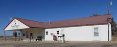 Old Post Office 67571 (Radium, Kansas) (courthouselover) Tags: kansas ks postoffices staffordcounty radium greatplains northamerica unitedstates us