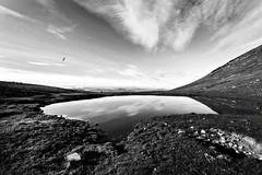 Lessinia (flaviogallinaro) Tags: ribbet paesaggio lago cielo acqua montagna erba roccia lessinia veneto italia bianco nero fujixt2