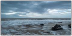 Shore break (dwryan1979) Tags: winter clouds time seaside shorebreak porthcawl nikon weather foreground close sky foregroundrocks