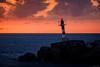 Lighthouse - Calheta, Madeira (Sebastian Bayer) Tags: godrays olympus meer sonne atlanik strahlen madeira wellen portugal hafen leuchtturm silhouette mft warm urlaub sonnenuntergang wasser omd calheta omdem5ii landschaft wolken licht lombododoutor pt