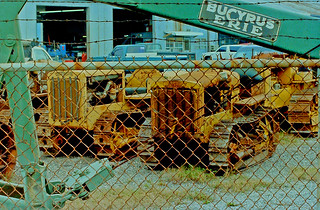 Sterling Equipment Yard, Pinellas Park, Tractors (1 of 4)