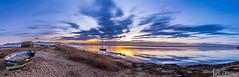 Canet en Roussillon (France) (Shoot Enraw) Tags: barques poselongue saintnazaire bracketting coucherdesoleil pyrénnéesorientales cabanesdepêcheurs canigou canetenroussillon etang 110160mmf28