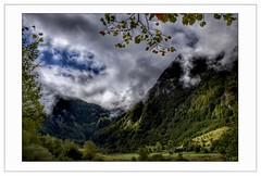 Tout au fond de la vallée (Charlottess) Tags: ciel paysage nikon5300 septembre oo vallée pyrenees