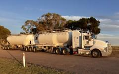Kenworth T604 (quarterdeck888) Tags: trucks transport semi class8 overtheroad lorry heavyhaulage cartage haulage bigrig jerilderietrucks jerilderietruckphotos nikon d7100 frosty flickr quarterdeck quarterdeckphotos roadtransport highwaytrucks australiantransport australiantrucks aussietrucks heavyvehicle express expressfreight logistics freightmanagement outbacktrucks truckies tanker drybulktanker cementtanker convair kenworth t604 kenwortht604 t604kenworth qube qubetransportqubebulk bdouble bdoubletanker kenworthbdouble