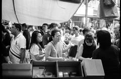 Chinese New Year market - Chinatown - Singapore (waex99) Tags: 2018 50iso bw cny canon chinatown eos eos1n feb pf50 polypan yearsingapore analog chinese film new