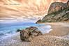 (018/18) Espacios abiertos (Pablo Arias) Tags: pabloarias photoshop photomatix capturenxd españa cielo nubes mar agua mediterráneo costabahía paisaje playa acantilado cantos olas caladelmoraig banitatxell alicante