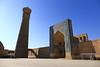 Minaret and mosque Kalyan (deus77) Tags: minaret mosque kalyan bukhara uzbekistan islam architecture madrasah monument tower