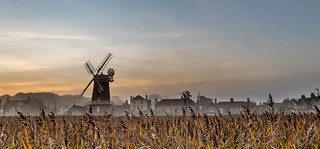 Cley Mill and Reeds