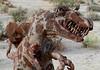Desert Dinosaur. (cowyeow) Tags: usa america us art sculpture statue california spinosaurus dinosaur dinosaurs rust folkart metal anzaborrego desert statepark anzaborregodesert borrego teeth weird rusty rusted peeling old