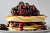 waffles (Rural Roads Photography) Tags: food foodstyling plated foodphotography waffles berries chocolate breakfast layers fruit sweet snack