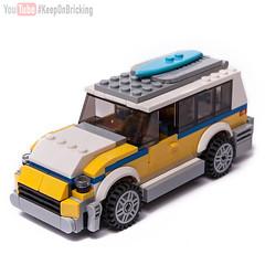 31079 alternate MOC (KEEP_ON_BRICKING) Tags: lego creator set mod moc legomoc 31079 surf van minivan wagon sunshine family keeponbricking 2018 new design