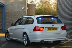 NK61 CHH (S11 AUN) Tags: durham constabulary bmw 330d 3series estate anpr police traffic car rpu roads policing unit unmarked collision investigation ciu video equipped 999 emergency vehicle 61reg nk61chh